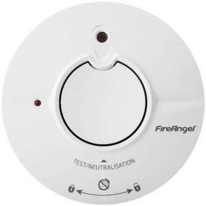 Детектор дыма FireAngel Thermoptek с кнопкой отключения звука - с 5-летней батареей