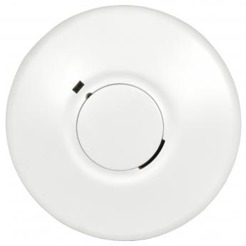 Детектор дыма Mercury с кнопкой отключения звука с питанием 20-240вольт от сети