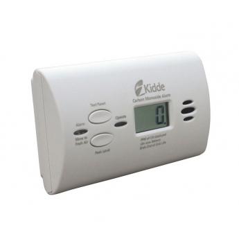 Датчик угарного газа CO Kidde Compact с LCD-дисплеем
